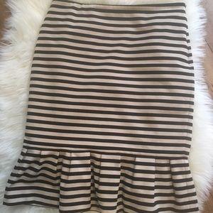 White House Black Market Flute Skirt